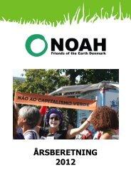 Årsberetning fra Noah