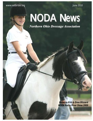 NODA News - Northern Ohio Dressage Association