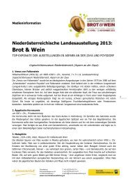 Medieninformation Top Exonate (pdf) - Niederösterreichische ...