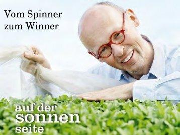 """Präsentation von Johannes Gutmunn """"Vom Spinner zum Winner"""""""