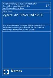 Zypern, die Türkei und die EU - Nomos Shop