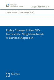 Policy Change in the EU's Immediate Neighbourhood: A ... - Nomos