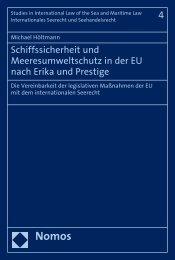 Schiffssicherheit und Meeresumweltschutz in der EU nach ... - Nomos