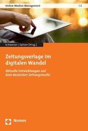Zeitungsverlage im digitalen Wandel - Nomos Shop