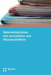 Wahrheitskriterien von Journalisten und ... - Nomos Shop
