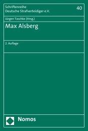 Max Alsberg - Nomos Shop