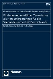Piraterie und maritimer Terrorismus als ... - Nomos Shop