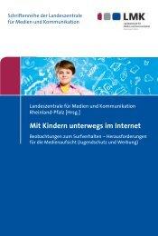 Mit Kindern unterwegs im Internet - Nomos Verlagsgesellschaft