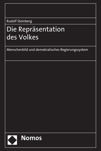 Die Repräsentation des Volkes - Nomos Verlagsgesellschaft