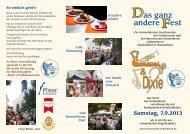 Flyer mit Programm 2013 (PDF) - Nonnenhorn
