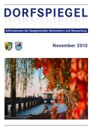 November 2013 - Nonnenhorn