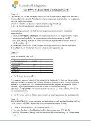 Toets Chemie - Noordhoff Uitgevers