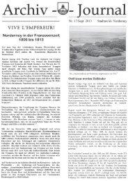 Archiv-Journal Nr. 17 - Chronik der Insel Norderney