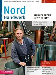 PDF-Version hier. - Nord-Handwerk
