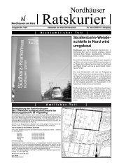 """Amtsblatt """"Nordhäuser Ratskurier"""" Nr. 2005/4 - Stadt Nordhausen"""
