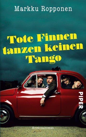 Leseprobe aus: Ropponen, Tote Finnen tanzen keinen Tango
