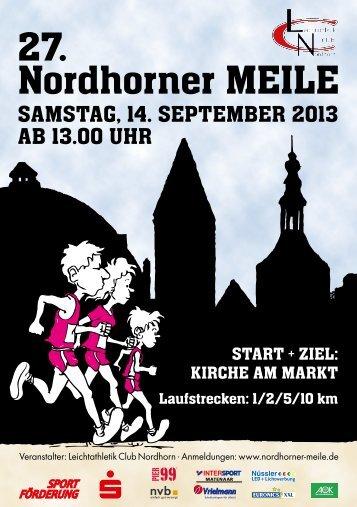27. Nordhorner MEILE