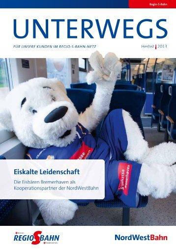 Qualitätsbericht Eiskalte Leidenschaft - NordWestBahn