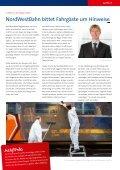Qualitätsbericht Eiskalte Leidenschaft - NordWestBahn - Seite 7