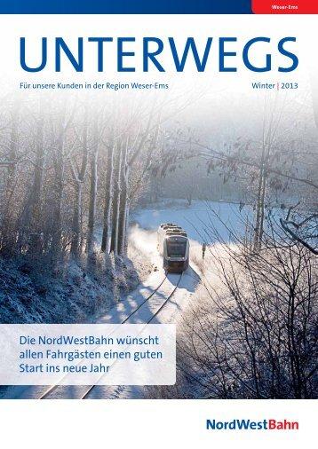 Ausgabe 3/2013 Winter - NordWestBahn