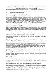 Richtlinie Jugendarbeit - Landkreis Nordwestmecklenburg