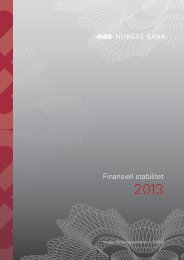 Finansiell stabilitet 2013 (Norges Bank)