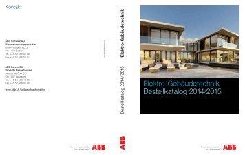 Taschenkatalog 2014/2015 - ABB Schweiz AG ...