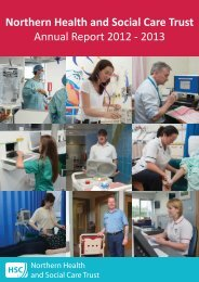Annual Report 2012 - 2013 - Northern Health and Social Care Trust