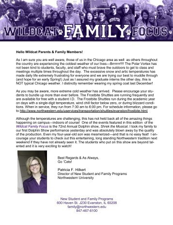 Patricia F. Hilkert - Northwestern University