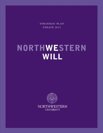 strategic plan update - Northwestern University
