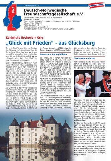 Glück mit Frieden - Deutsch-Norwegische Freundschaftsgesellschaft ...