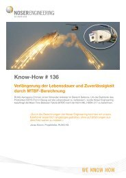 Know-How # 136 - Noser Engineering AG