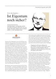Notenstein Gespräch_April_2013.indd - Notenstein Privatbank AG
