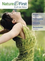 Zeitung 1.September 2013 - Nature First