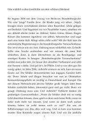 Geschichte aus Brandenburg - Novertis