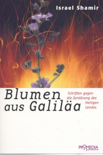 Blumen aus Galiläa - Novertis