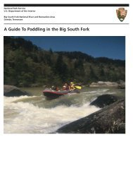 A Guide To Paddling in the Big South Fork - National Park Service