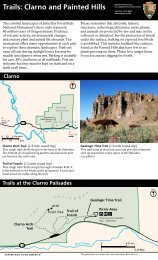 Trails: Clarno and Painted Hills - National Park Service