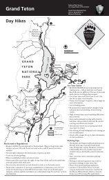 Day Hikes Grand Teton - National Park Service