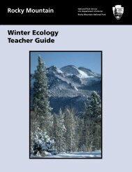 Winter Ecology Teacher Guide - National Park Service