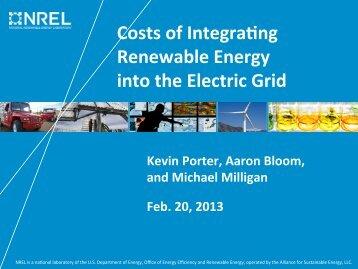 Presentation slides - NREL
