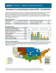 Shorepower Truck Electrification Project (STEP) - First Half ... - NREL