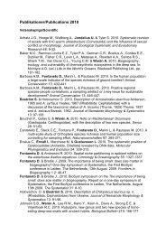 BILAGA: EVERTEBRATSEKTIONENS RESULTAT 2000