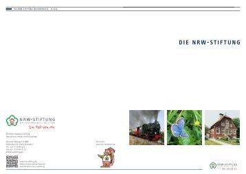 PDF (6,6 MB) - NRW-Stiftung