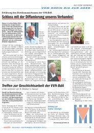 September/Oktober V/2011 - VVN/BdA NRW
