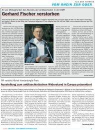 September/Oktober V/2013 - VVN/BdA NRW