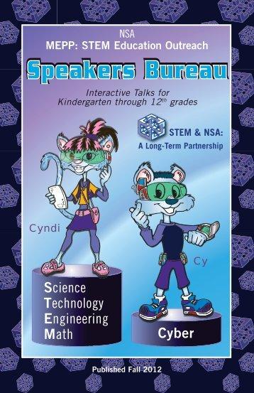 Speakers Bureau Speakers Bureau - National Security Agency