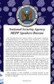 Speakers Bureau Speakers Bureau - National Security Agency - Page 3