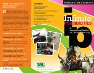 In International Studies and Service-Learning - Norfolk State University