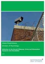 SOCAMRU Research Newsletter - September 2013 - Nottingham ...